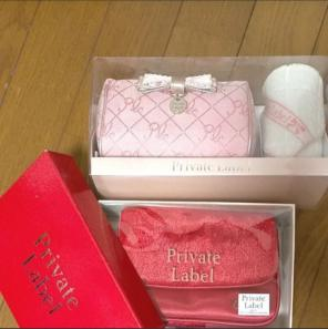 """Thumbnail of """"private label ギフトセット ポーチ&タオルハンカチ"""""""